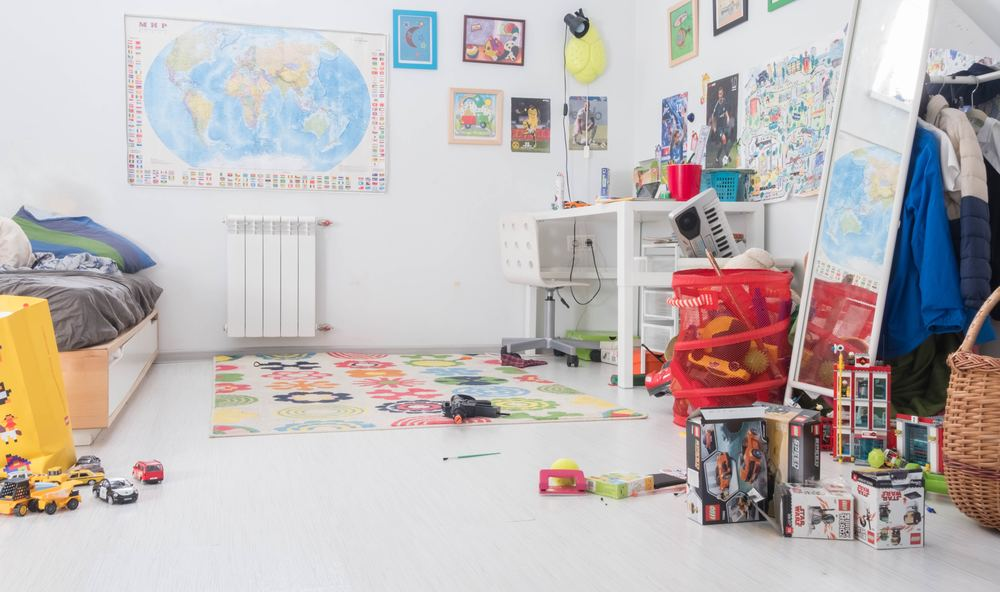 Förnya i barnrummet med väggdekor